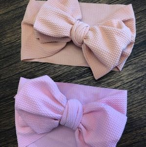 Knotted Headwrap • Large Bow Headband